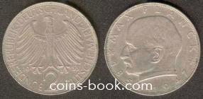 2 марки 1958