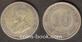 10 центов 1927