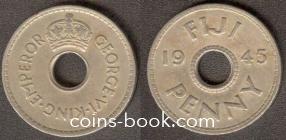 1 пенни 1945