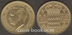 20 франков 1951