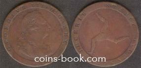 1 пенни 1813