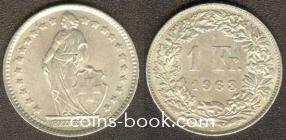 1 франк 1963