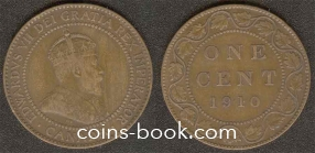 1 цент 1910