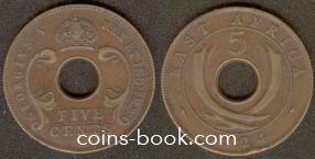 5 центов 1924