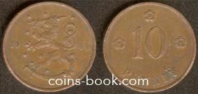 10 пенни 1934