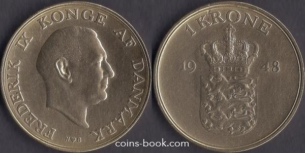 1 крона 1948