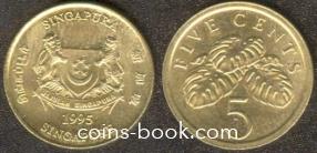 5 центов 1995