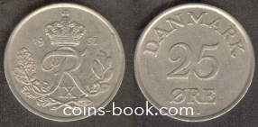 25 øre 1957