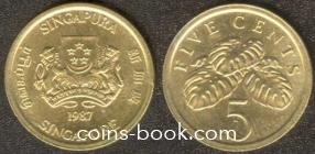 5 центов 1987