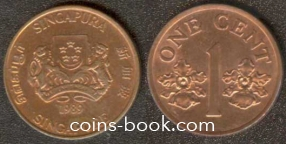 1 цент 1989