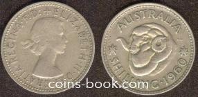 1 shilling 1960