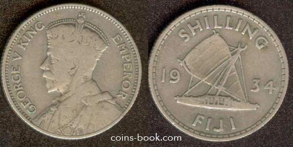 1 шиллинг 1934