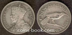 6 пенсов 1934
