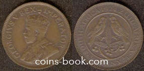 1/4 penny 1924