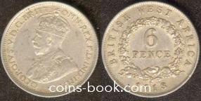 6 пенсов 1918