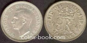 6 пенсов 1941