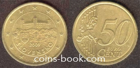 50 eurocents 2009