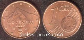 1 eurocent 2009