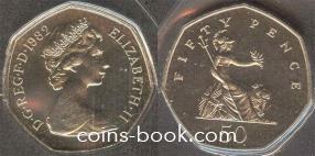 50 pence 1982