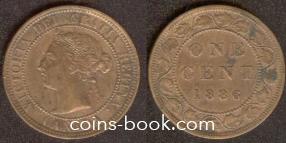 1 цент 1886
