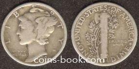 10 центов 1936