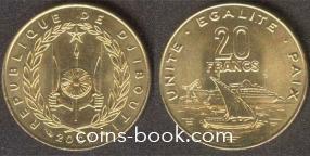 20 франков 2007