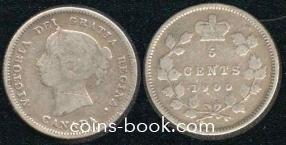 5 центов 1900