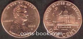 1 цент 2009