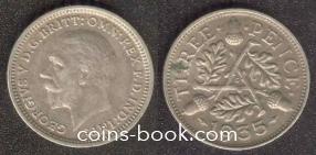 3 пенса 1935
