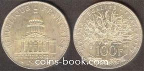 100 франков 1983
