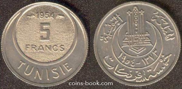 5 франков 1954