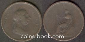 1 пенни 1806