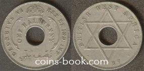 1/2 пенни 1937