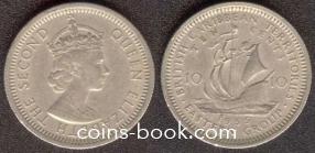 10 центов 1956