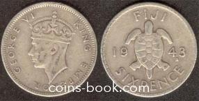6 пенсов 1943