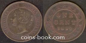 1 цент 1859