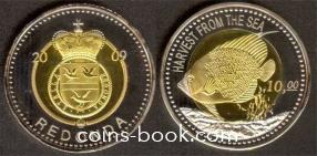 10 долларов 2009