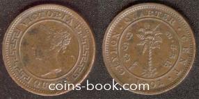 1/4 cent 1901