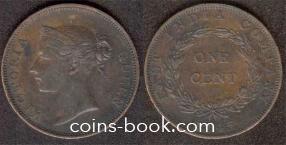 1 цент 1845