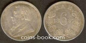 6 пенсов 1897