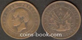 20 centimes 1863