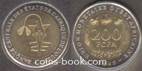 200 франков 2005