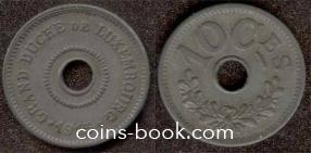 10 сантимов 1915