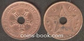 1 centime 1888