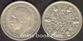 6 пенсов 1928
