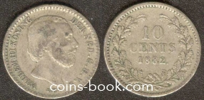 10 центов 1882