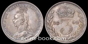 3 пенса 1892