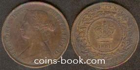 1 цент 1861