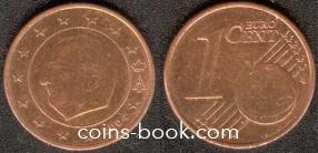 1 евроцент 2004