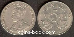 5 центов 1922
